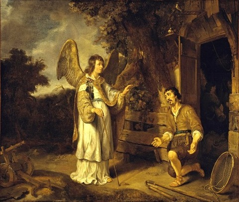 The Angel And Gideon by Gerbrand van den Eeckhout