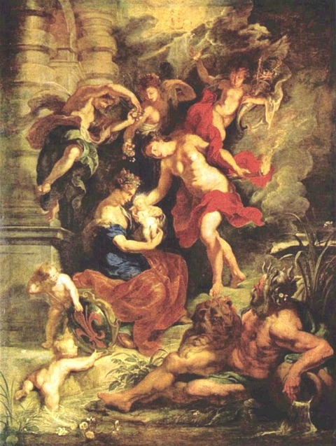 The Birth of the Princess, in Florence  1622-25