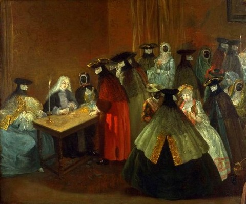 Follower of Pietro Longhi   18th