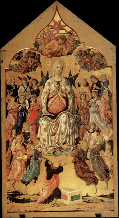 Matteo di Giovanni's The Assumption of the Virgin 1474
