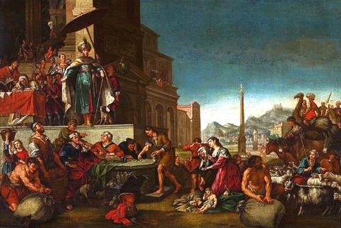 Bartholomeus Breenbergh or workshop Joseph  grain 1644年以降