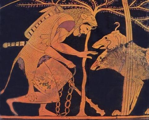 Hercules and Cerberus, 6th