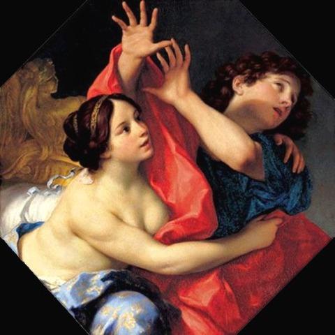 Joseph and Potiphar's Wife'Carlo Cignani 1678