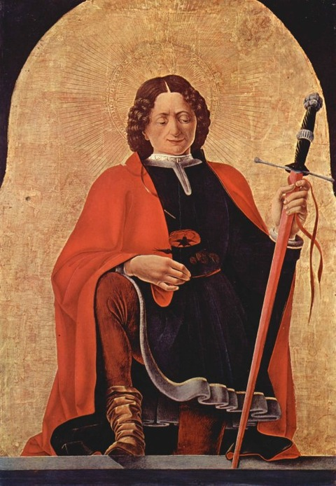 Saint Florian by Francesco del Cossa, 1473