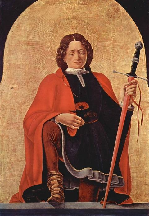 Saint Florian by Francesco del Cossa, 1473