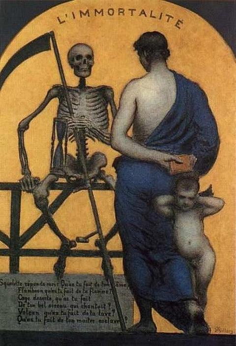 Immortality Xavier Mellery