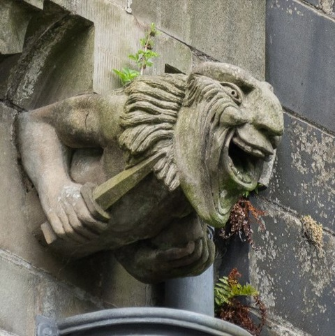 Paisley_Abbey_New_Gargoyles (7)