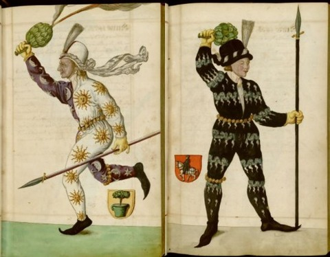 Radical Fashion from the Schembart Carnival (1590)3