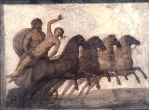 Roman tomb painting, 2nd–3rd century AD