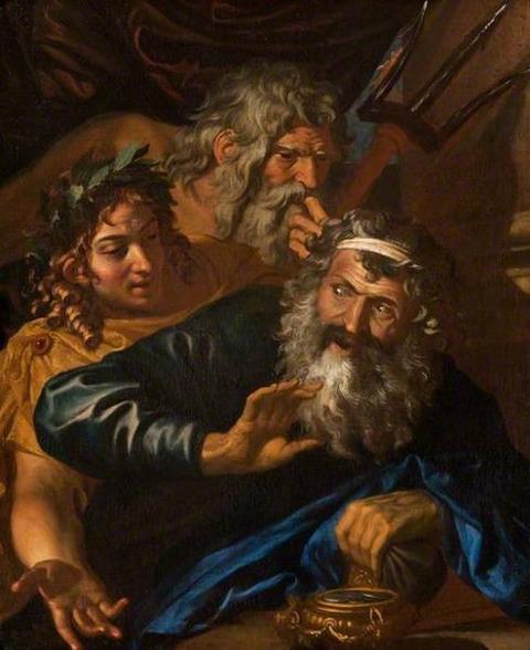 Laomedon Refusing Payment to Poseidon Apollo 17th unknown