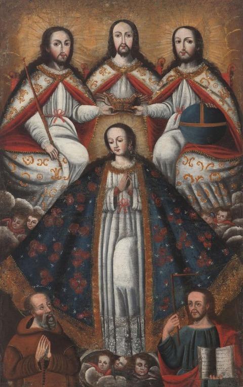 late 18th  unknown artist Peru