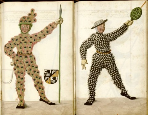 Radical Fashion from the Schembart Carnival (1590)11