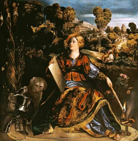 Die Zauberin Circe - Dosso Dossi  1540