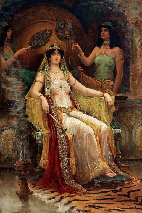 Queen Of Sheba by Edward Slocombe