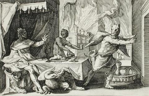 engraving  Hendrik Goltzius 1589
