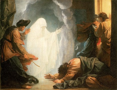 Saul And The Witch Of Endor by Benjamin West