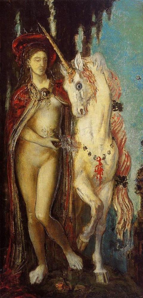 Gustave Moreau  1885
