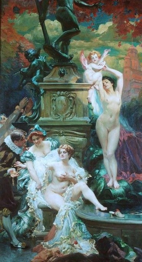 Paul Gervais - La Fontaine de Jouvence