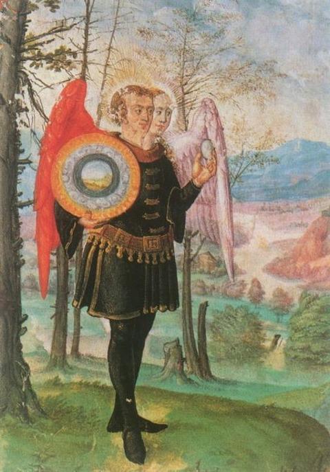Rebis z Manuskryptu Norymberskiego, 1530