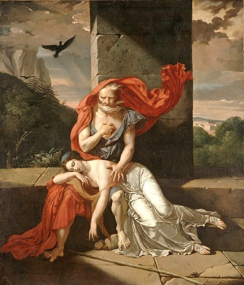 Oedipus At Colonus by Fulchran-Jean Harriet