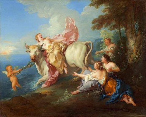 The Abduction of Europa, Jean-François de Troy 1716