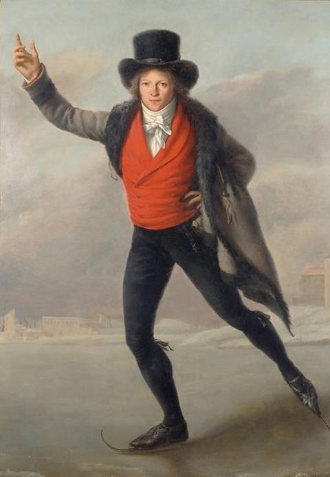 Pierre Maximilien Delafontaine Skater Bertrand Andrieu 1798