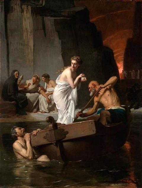 Psyché aux enfers (1865) by Eugène Ernest Hillemacher