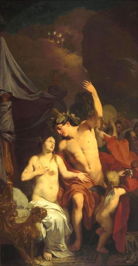 Gerard de Lairesse  Bacchus and Ariadne 1676-1682