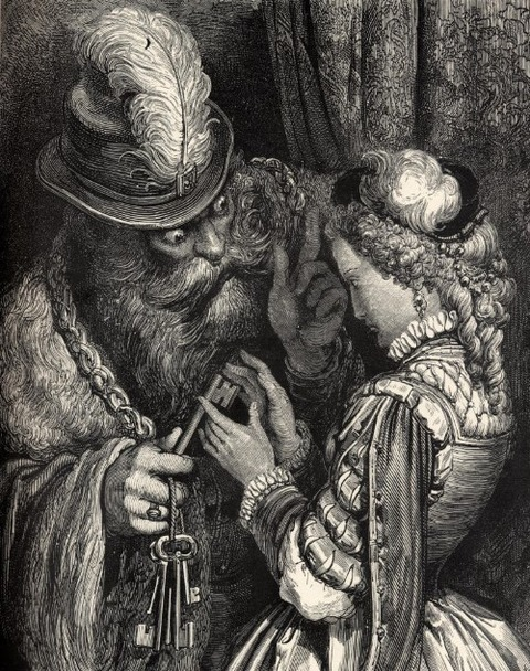 Bluebeard 19th by Gustave Doré