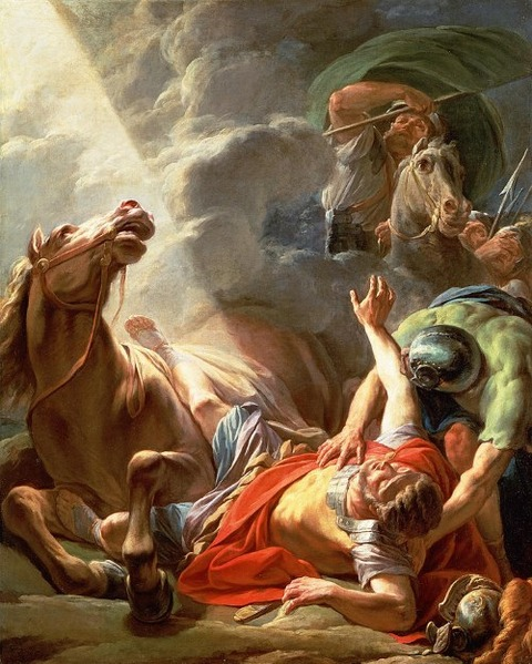 The Conversion Of St Paul  Nicolas Bernard Lepicie