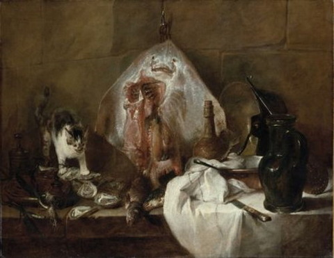 jean simeon chardin ray also called kitchen interior 1725-26