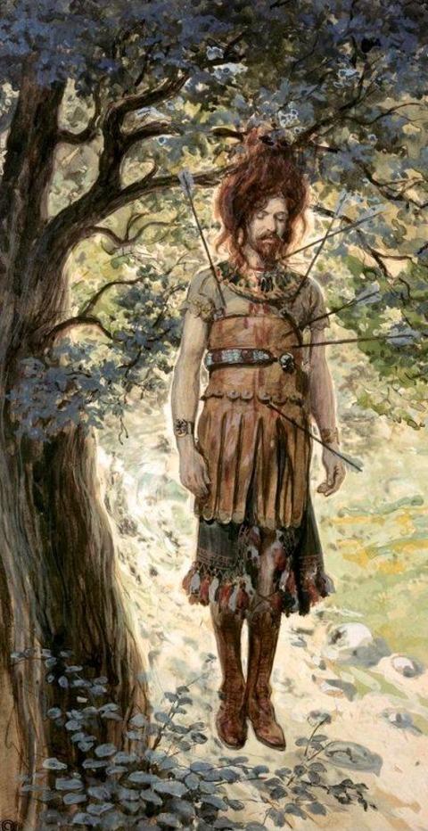 James Tissot - Death of Absalom