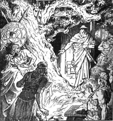 Sigmund's Sword (1889)  Johannes Gehrts
