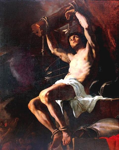 Mattia Preti (Il Cavalier Calabrese), Saint Sebastian, 17th
