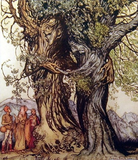 Arthur Rackham - Philemon and Baucis