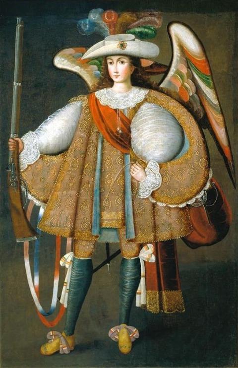 Angel Arcabucero 18th century