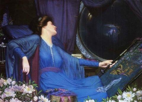 I am Half-Sick of Shadows Shalott Sidney Meteyard 1913
