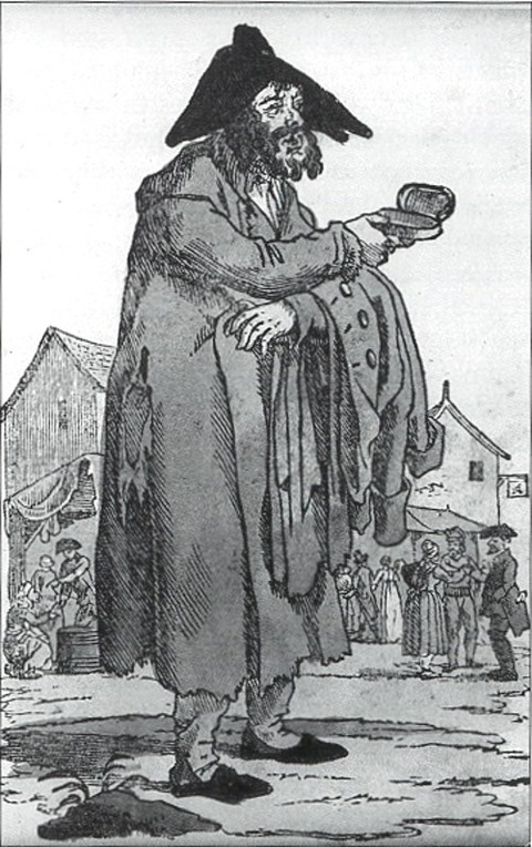 16th century french beggar