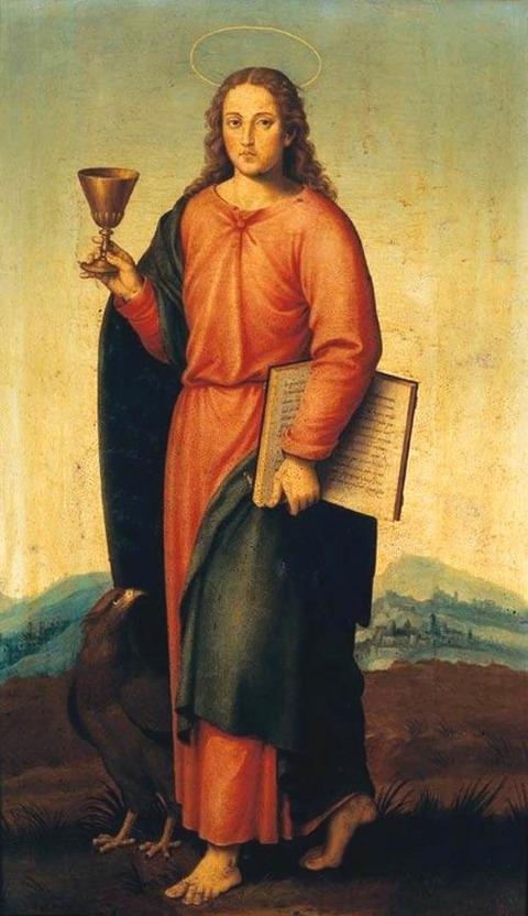 Juan de Juanes - Saint John the Evangelist