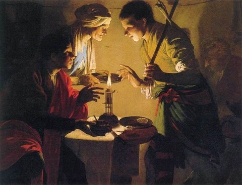 Hendrick ter Brugghen, Esau Selling His Birthright  1627