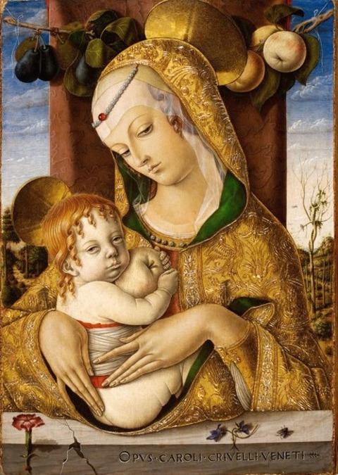 カルロ・クリヴェッリ作  1480年
