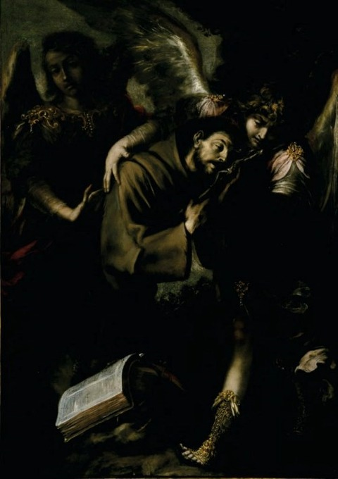 Juan de Valdés Leal 1622-90 The Ecstasy of Saint Francis