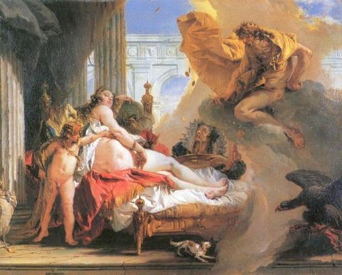 Giambattista Tiepolo Danae and Jupiter 18th