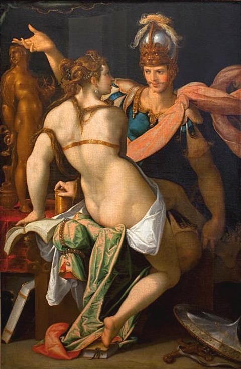 Odysseus and Circe Bartholomeus Spranger 1546-1611
