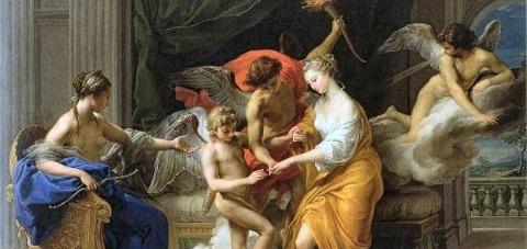 Pompeo Batoni – Il matrimonio di Cupido e Psiche -