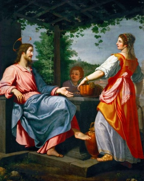 Christ and the Samaritan Woman at the Well  Giovanni Bilivert