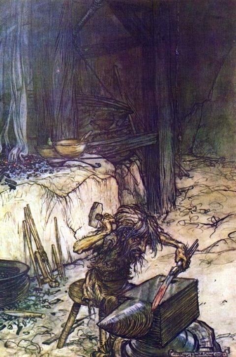 Mime (Reginn)  Arthur Rackham 1911
