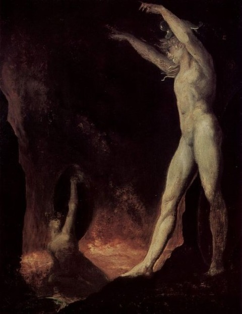 'Satanic Call to Beelzebub in Hell', 1802