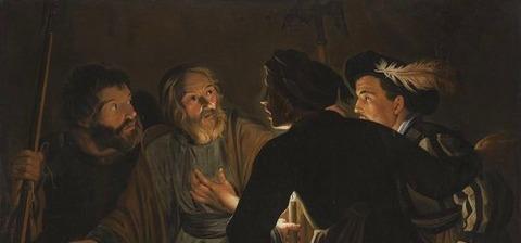 Follower of Gerard Seghers 1628 -