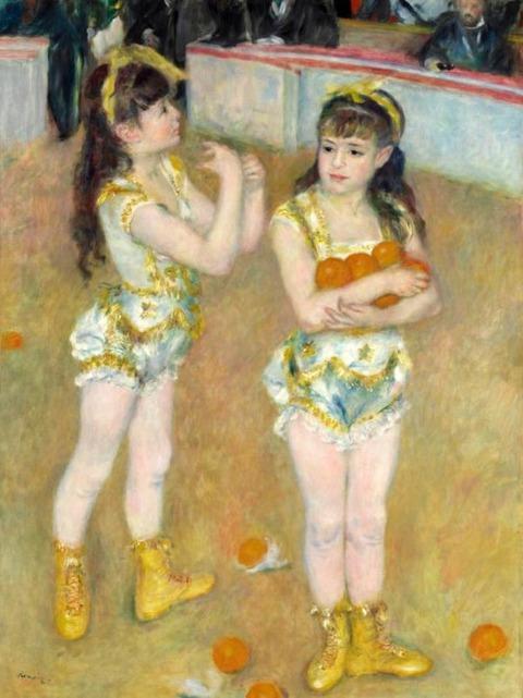 Renoir Circus Girls, 1878
